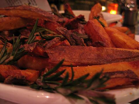 bar cento fries in duck fat PD