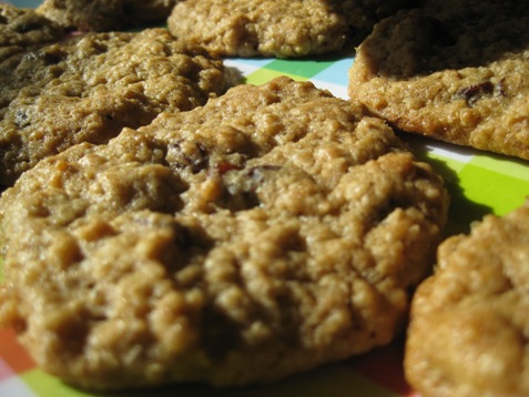 007Oatmeal Raisin Cookies PD