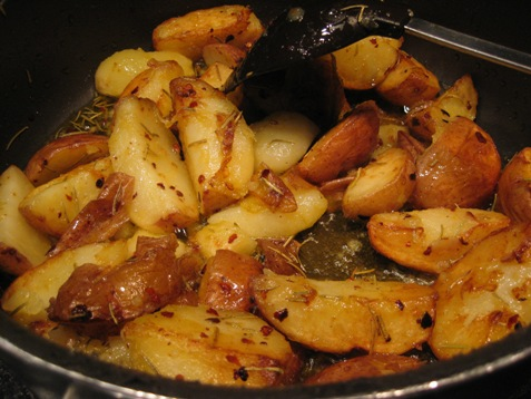 012 Red skin potatoes with tahini sauce PD