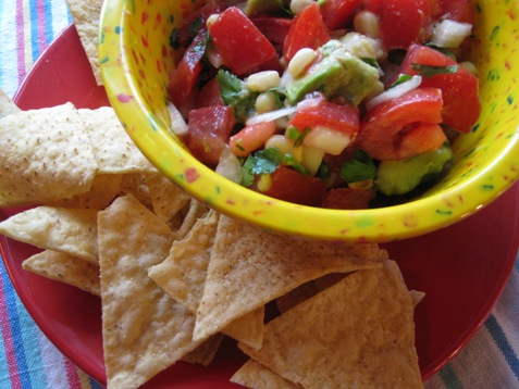 018 fresh salsa with avocado