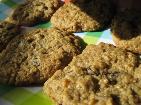 Oatmeal Raisin cookies PD