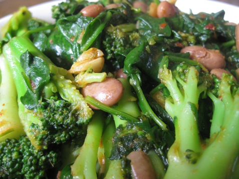 008broccoli spinach and beans PD