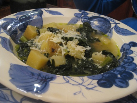 027kale potato soup with parmesan PD