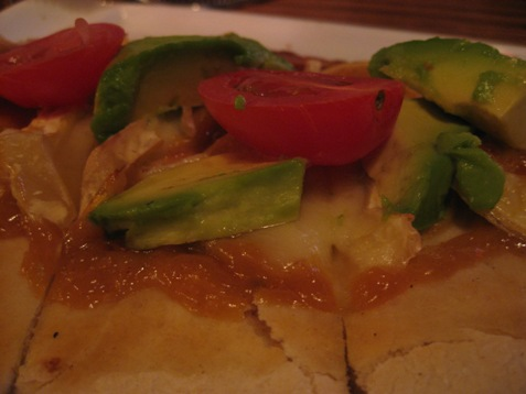 039Avocado, brie flatbread PD