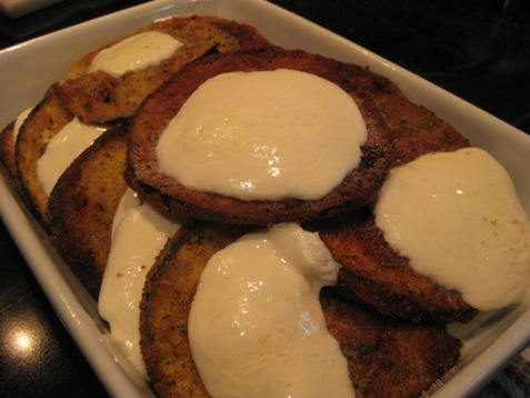 042eggplant and mozzerella