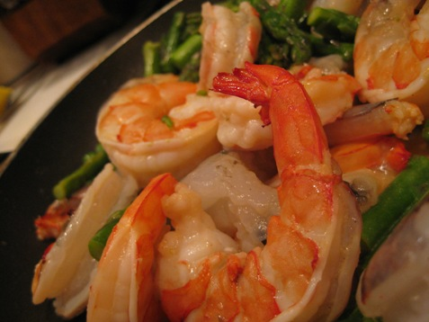 007risotto with shrimp and asparagus
