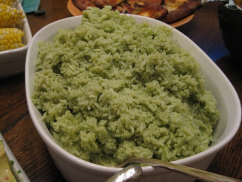 012green godess rice