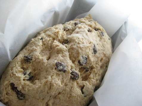 020soda bread with raisins