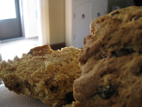 039soda bread with raisins