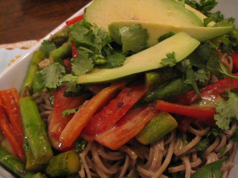 073green curry soba noodles