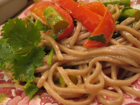 079green curry soba noodles
