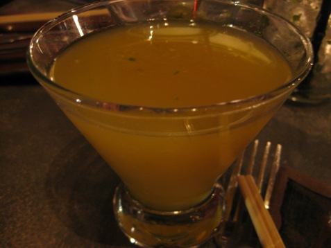 335yellow mango cocktail at sugarcane